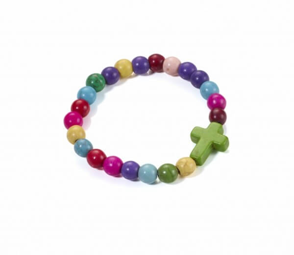 Kinderarmband - Bunte Perlen