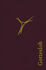 Gotteslob Bistum Trier Leder mit Goldschnitt & Weinrot