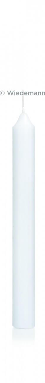 Neutrale Kerze - Weiß & Lang
