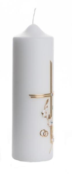 Kerze - Zur Diamentenen Hochzeit