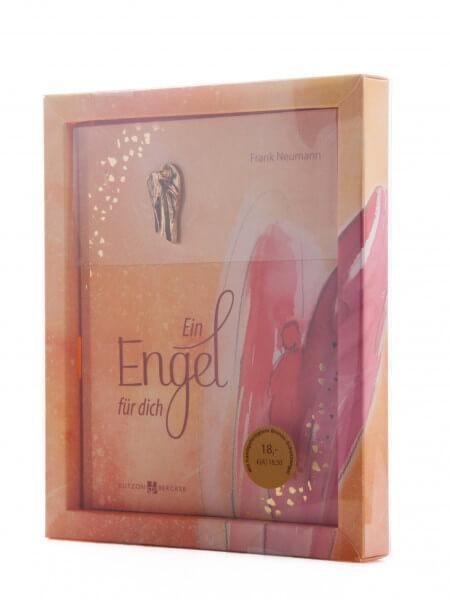 Geschenkbuch - Ein Engel für dich mit Bronzeengel