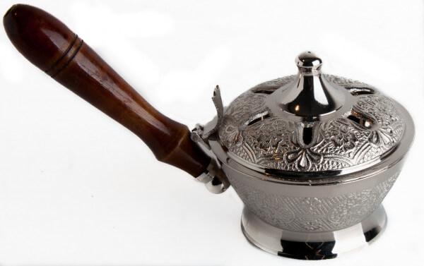 Weihrauchgefäß - Pfanne und Kupfer