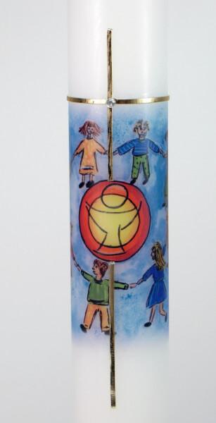 Kommunionkerze - Kinderkreis