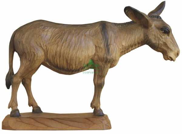 Karl-Kuolt-Krippe Lindenholz - Esel