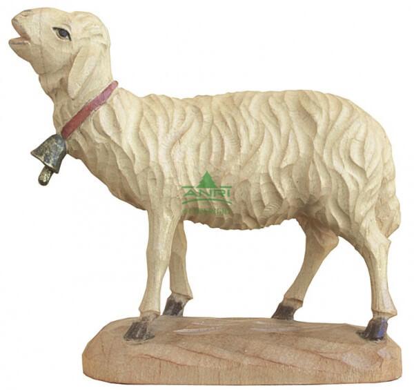 Karl-Kuolt-Krippe Lindenholz - Schaf mit Glocke