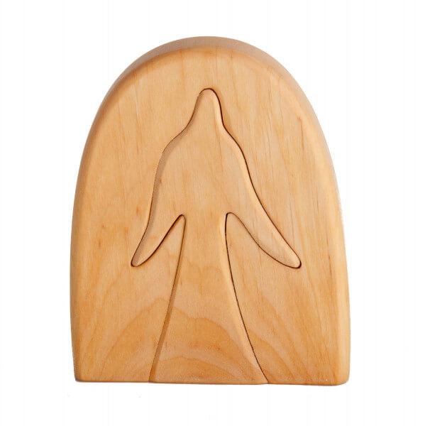 Weihnachtsdeko - Engel Puzzle & Holz