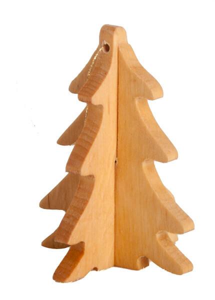 Weihnachtsdeko - Schlichte Holztanne
