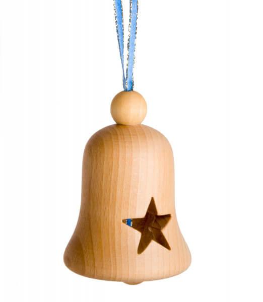 Weihnachtsdeko - Holzglocke & Sterne