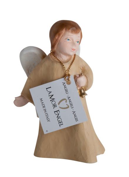 Engelfigur - Engel mit Glöckchen & Farbig