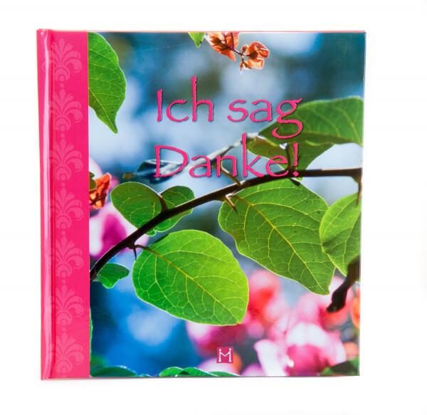 Geschenkbuch - Ich sag Danke!