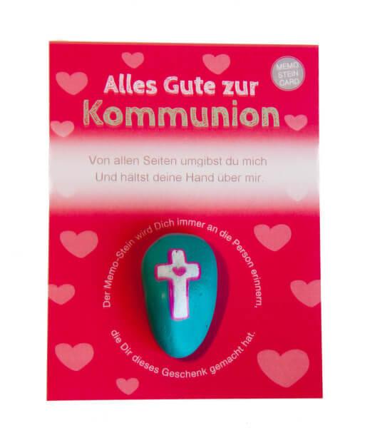 Handschmeichler zur Erstkommunion - Memo-Stein und ...