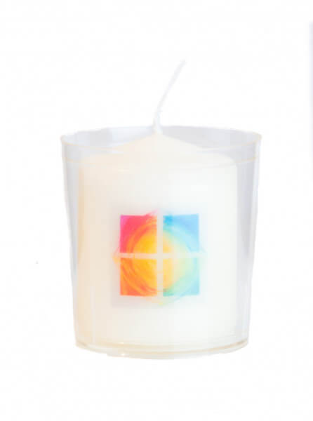 Mini-Kerze - Hoffnung & Becher