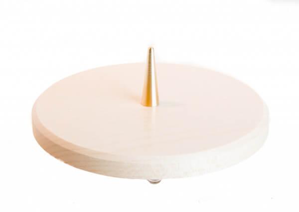 Kerzenständer - Schlichter Leuchter aus Ahornholz