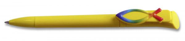 Kugelschreiber - Regenbogen-Fisch