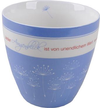 Porzellan-Tasse - Jeder Augenblick