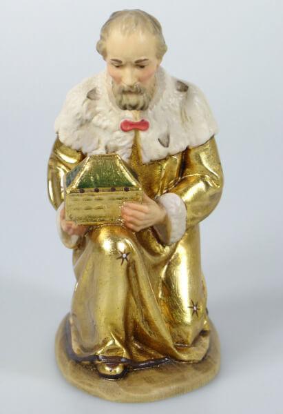 Karl-Kuolt-Krippe - König kniend