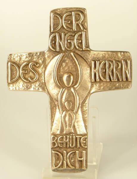 Bronzekreuz - Engel des Herrn