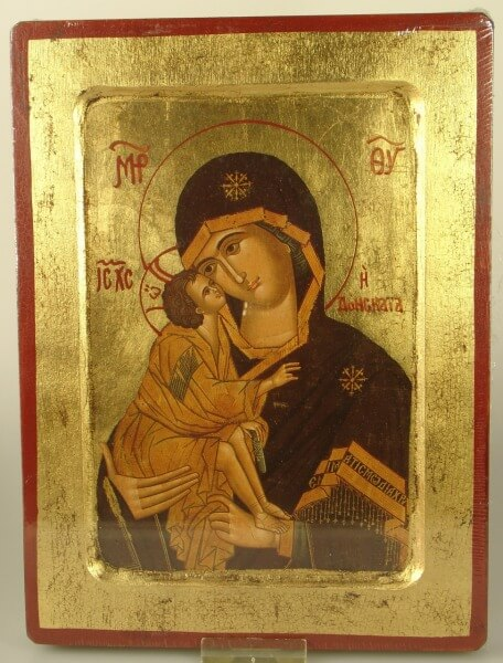 Ikone - Gottesmutter von Wladimir