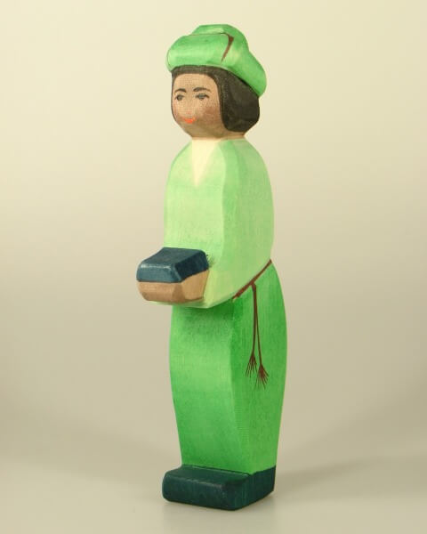 Ostheimer Krippe - König grün orientalisch