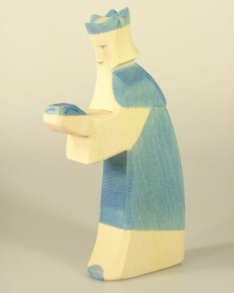 Ostheimer Krippe - König blau