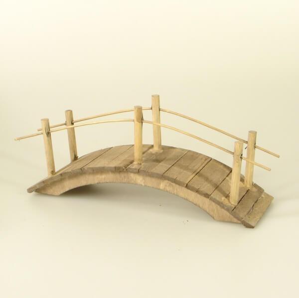 Krippen-Zubehör - Bogenbrücke 15 cm