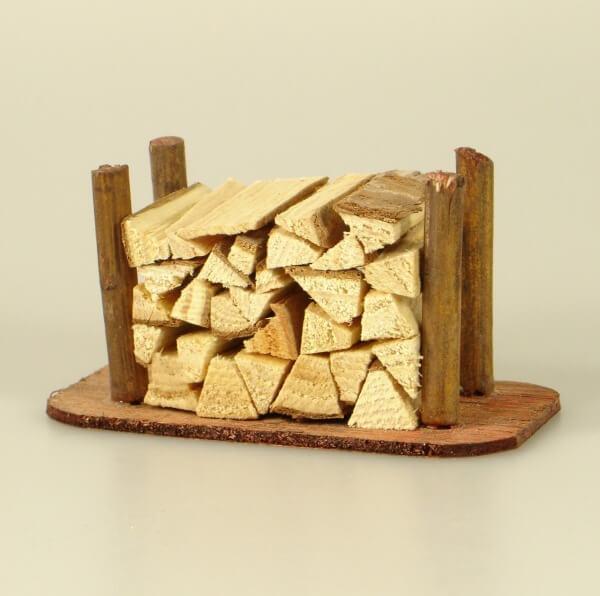 Krippen-Zubehör - Holzstapel