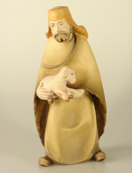 Leonardo-Krippe - Hirte alt mit Schaf