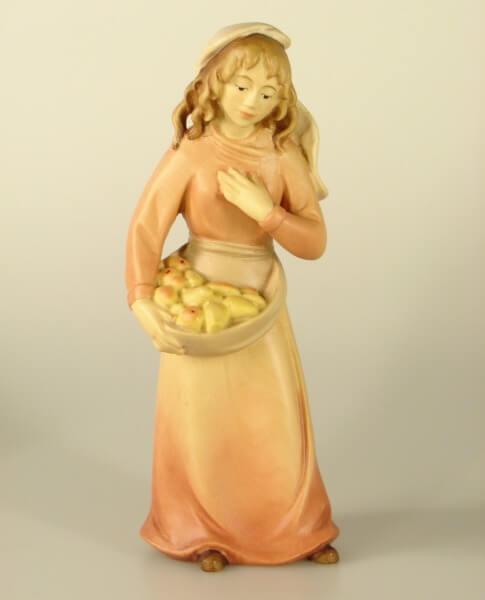 Leonardo-Krippe - Hirtenmädchen mit Früchten