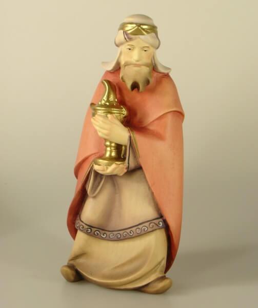 Leonardo-Krippe - König stehend