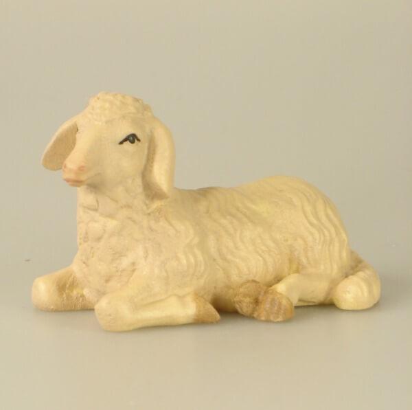 Leonardo-Krippe - Liegendes Schaf