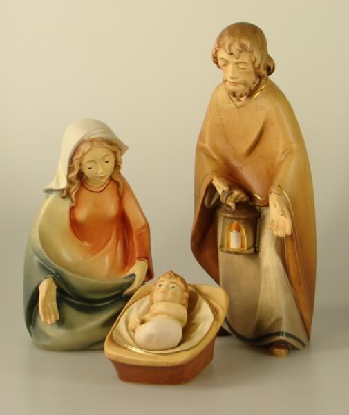 Leonardo-Krippe - Hl. Familie