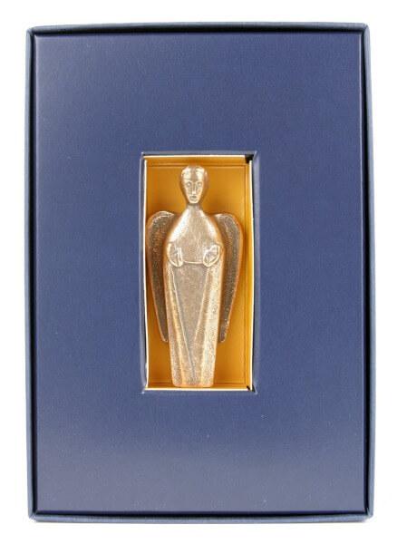 Handschmeichler - Bronzeengel & Geschenkkarton
