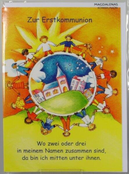 Kommunionkarte - Kinderkreis