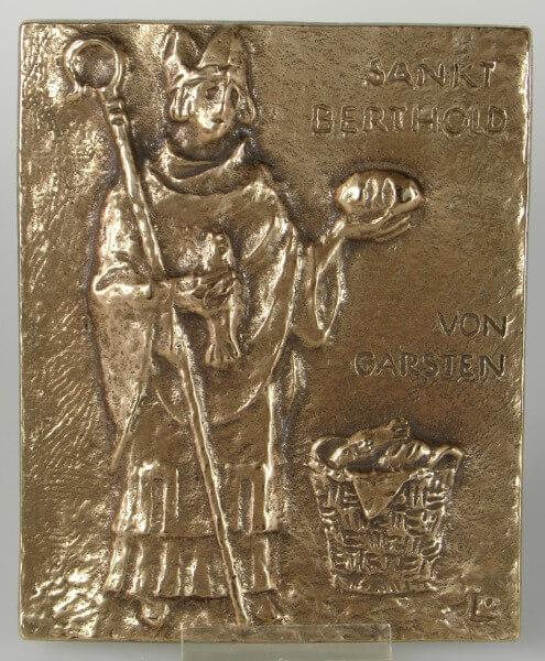 Namenspatron - Heiliger Berthold