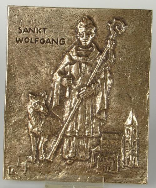 Namenspatron - Heiliger Wolfgang