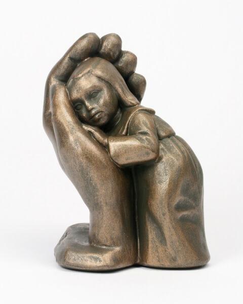 Bleib sein Kind - Bronzefarben