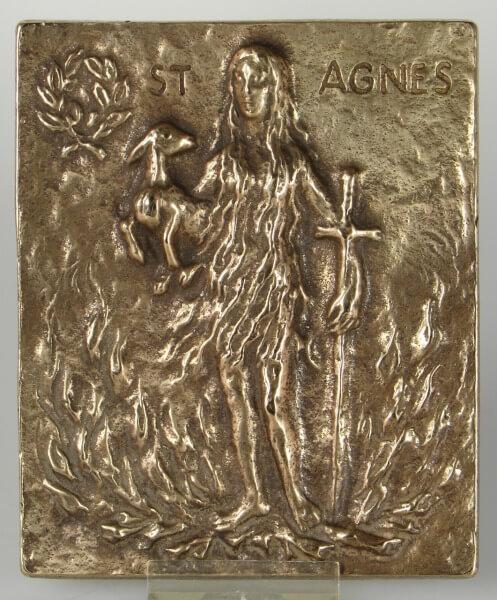 Namenspatron - Heilige Agnes