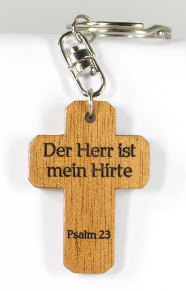 Schlüsselanhänger - Kreuz & Hirte