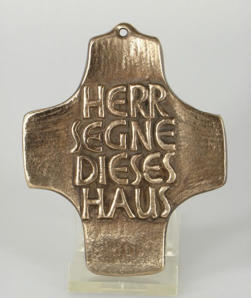 Haussegen - Kreuzform & Klein