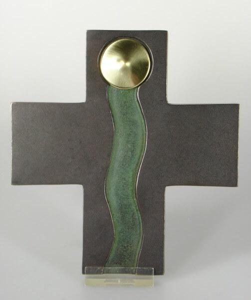 Bronze-Kreuz - Weg des Lebens