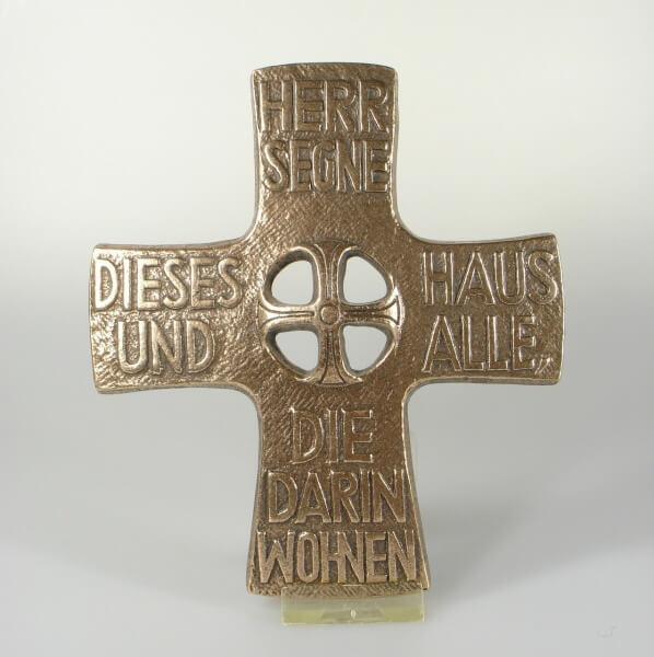 Haussegen - Kreuz im Kreuz