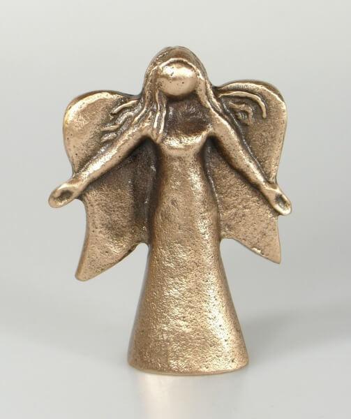 Bronze-Plastik - Engel
