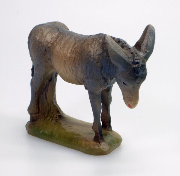 Künstler-Krippe - Esel stehend