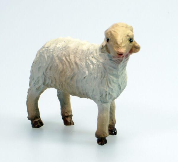 Künstler-Krippe - Schaf steh. Rechts