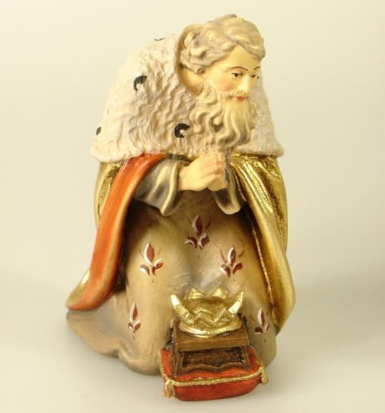 Kostner-Krippe - König kniend