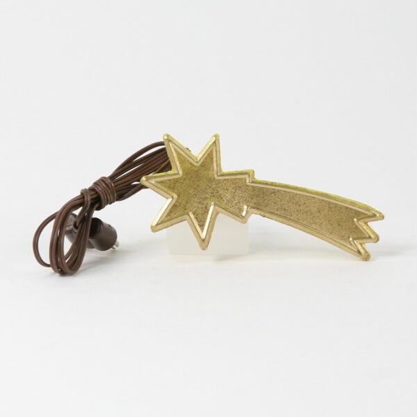 Krippen-Zubehör - Komet & Gold