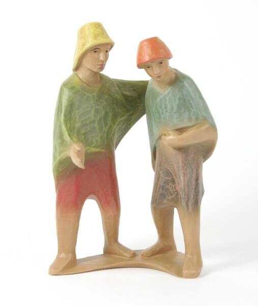 Gelenberg-Krippe - Hirtenpaar - 18 cm