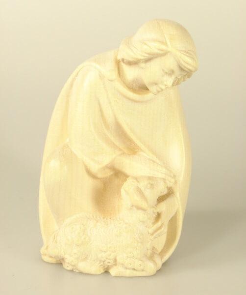 Georg-Krippe - Hirtenjunge kniend mit Lamm