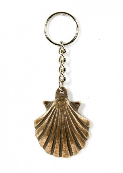Schlüsselanhänger - Jakobsmuschel