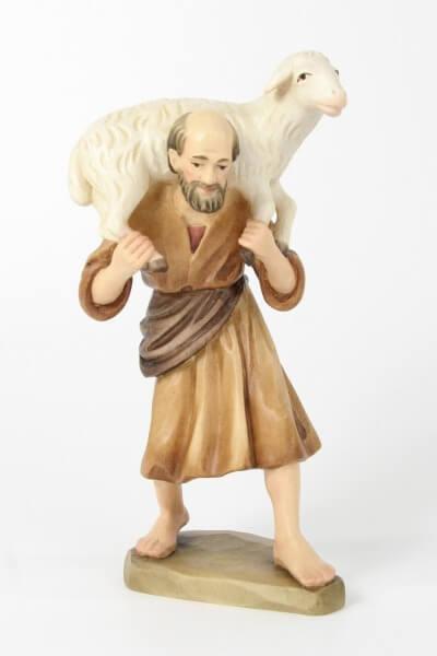 Karl Kuolt Krippe - Bauer mit Schaf
